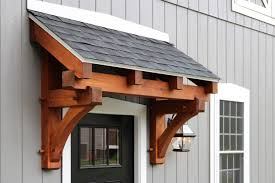 4 timber frame eyebrow roof with architectural shingles