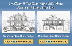 Rebuilding After Hurricane Sandy in New York  amp  New Jersey  One Story  amp  Two Story Piling  Stilt  Home Designs and House Plan