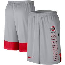 Under armour men's tech graphic shorts. Men S Nike Gray Ohio State Buckeyes Player Performance Shorts
