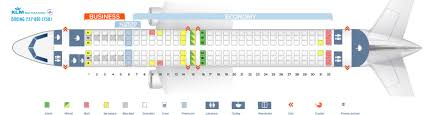seat map boeing 737 800 klm airlines