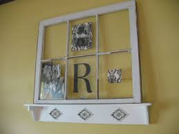 Decorate Old Windows Decorating With An Old Window The Robinsons Home Sweet Home