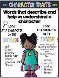 Character Traits Anchor Chart Understanding Characters Character Analysis Lessons Tes