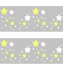 star nursery decal wallpaper border yellow grey wall art sticker on yellow and grey wall art nursery with star nursery decal wallpaper border yellow white grey gray stickers