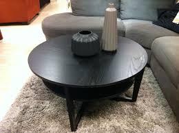 coffee table extraordinary round ikea circular inside ikea vejmon decor 19