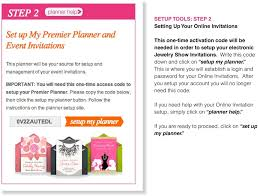 this is where you will elish a login and pword for your invitations