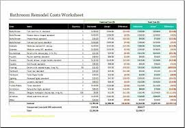home renovation cost estimator spreadsheet beautiful kitchen remodel cost calculator for home design new home renovation