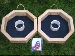 Wooden Lawn Games Wooden Ring Toss Game Giant Outdoor Game Buy Ring Toss Game 4