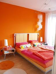 orange bedroom colors. Plain Orange Pink And Orange Bedroom Colors To