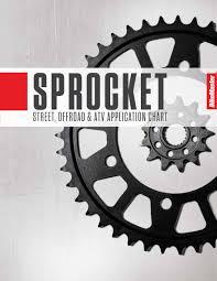 Bikemaster Sprocket Application Chart