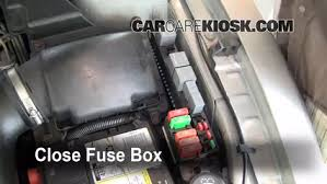 blown fuse check 1995 2005 pontiac sunfire 2001 pontiac sunfire 6 replace cover secure the cover and test component
