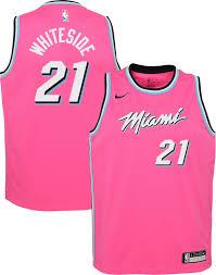 Nike Youth Swingman Jersey Size Chart Nike Youth Miami Heat Hassan Whiteside Dri Fit Earned