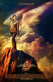 the hunger games catching fire katniss poster