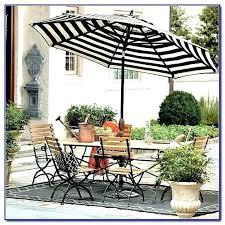 green and white striped patio umbrella black outdoor table base umbrellas u