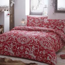 red spirit festive duvet cover sets