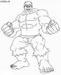 Kleurplaat Hulk De Mooiste Kleurplaten Militonl