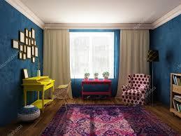 Armadietti per dpi : Sala da pranzo e armadio in colori vivaci mobili depoca e in