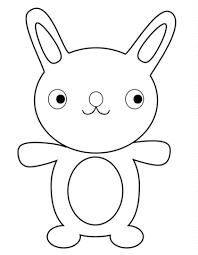 Disegno Di Coniglio Cartone Animato Da Colorare Disegni Da