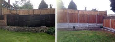 uneven ground nelsons fencing and
