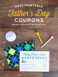 Free Print Coupons Free Printable Fathers Day Coupons