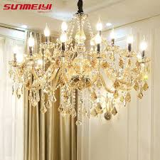 candle chandelier non electric candle chandeliers non electric new modern led crystal chandelier lights lamp for