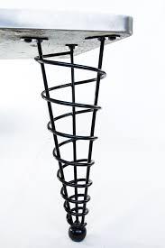 metal furniture legs modern. Table-legs-modern-steel-spiral-hotel-cone-coffee- Metal Furniture Legs Modern
