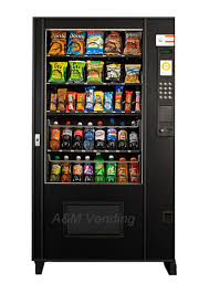 Vending Machine Cheap Fascinating Used AMS 48 Combo Vending Machine