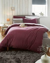 supersoft brushed cotton flannelette duvet cover