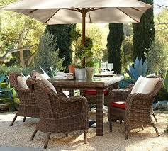 image of popular pottery barn outdoor furniture