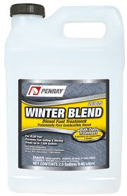 Diesel Additive Chart Fuel Winter Products Penray