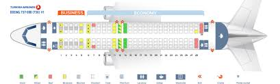 Boeing 738 Seating Chart Seat Map Boeing 737 800 Turkish Airlines Best Seats In The