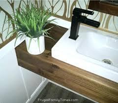 Image Sink Diy Floating Vanity Floating Vanity Popular How To Build Modern Wood For Less Than An Tihuainfo Diy Floating Vanity Tihuainfo