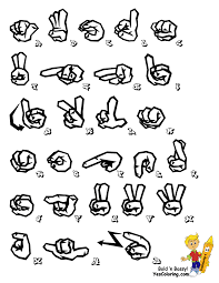 Free Printable Abc Sign Language Chart Printable Sign Language Alphabet Graffiti Free Asl
