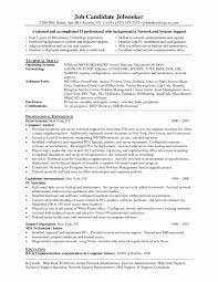 Technical Support Resume Myp Coordinator Sample Resume
