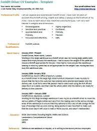 forklift driver resume sample forklift driver resume is one of the best  idea for you to . forklift driver resume sample ...