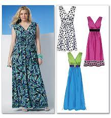 Plus Size Patterns Impressive Plus Size Dress Sewing Patterns Women's Style