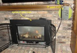 can gas fireplace cause carbon monoxide poisoning le with electric switch log holder propane logs vizio
