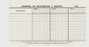 formato de asistencias museo virtual scouts venezuela control de asistencias y cuotas