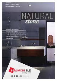 Beaumont Stone Specialist Brochure By Beaumont Tiles Issuu