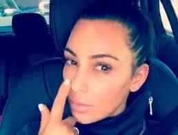kim kardashian snapchat post filter with no make up
