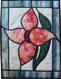Online quilt classes & quilting patterns: Stained Glass Lily quilt ... & Online quilt classes & quilting patterns: Stained Glass Lily quilt pattern Adamdwight.com