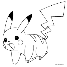 Pikachu Coloring Sheets Printable Pikachu Coloring Pages For Kids