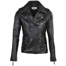 ashwood leather jacket black ruby