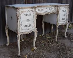 blue shabby chic furniture. french provincial white and blue shabby chis vanity desk chic furniture o