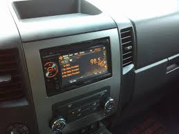 aftermarket double din install fyis nissan titan forum aftermarket double din install fyis resampled952012 08 159513 09 2095458