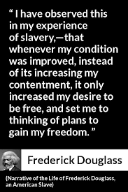 Narrative Of The Life Of Frederick Douglass Quotes Delectable Frederick Douglass Quote About Freedom From Narrative Of The Life Of