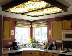kitchen fluorescent lighting. Kitchen Fluorescent Lighting Ideas For Replacing  Boxes Big Black Steel I