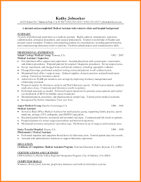 Certified Medical Assistant Resume Samples Certified Medical Assistant Resume Samples Best Resume Templates 52