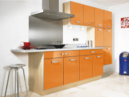 Orange And White Kitchen Orange Kitchens