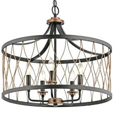 kichler lighting barrington drum pendant in addition to 5 d59