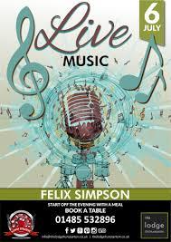 Felix Simpson - Live Music | 6 July 2019 | The Lodge, Old Hunstanton